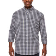 IZOD® Long-Sleeve Essential Woven Shirt - Big & Tall