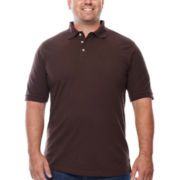 IZOD® Short-Sleeve Solid Piqué Polo - Big & Tall