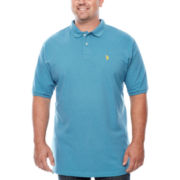 U.S. Polo Assn.® Short-Sleeve Heather Knit Polo - Big & Tall