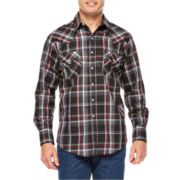 Ely Cattleman® Plaid Snap Shirt - Big & Tall