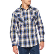 Ely Cattleman® Plaid Snap Shirt - Big & Tall