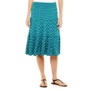 St. John's Bay® Short Knit Skirt