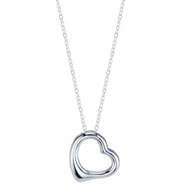 jcpenney.com | Footnotes Womens Sterling Silver Pendant Necklace