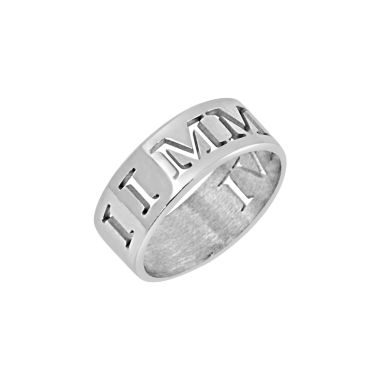 jcpenney.com | Personalized Roman Numeral Date Ring