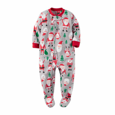 jcpenney.com | Carter's Boys Long Sleeve Footed Pajamas-Baby