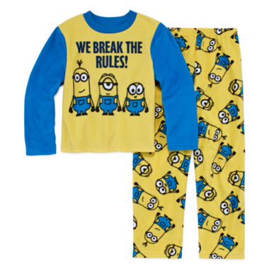 jcpenney.com | Boys Long Sleeve Despicable Me Kids Pajama Set-Big Kid