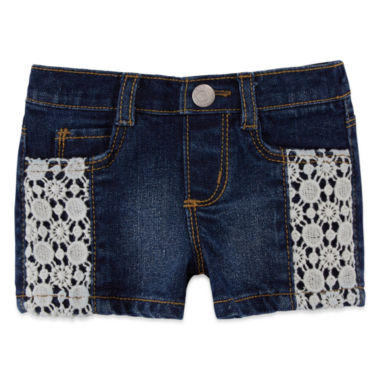 jcpenney.com | Arizona Fashion Denim Short - Baby Girl 3m-24m