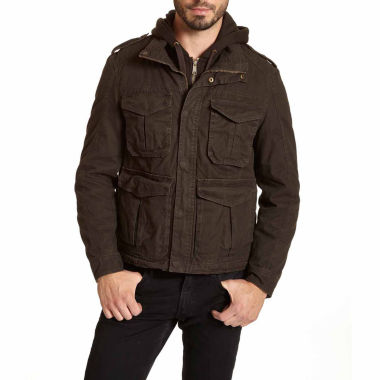 jcpenney.com | EXCELLED MILITARY STYLE HOODED JACKET