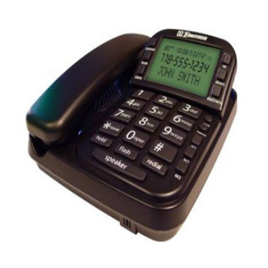 jcpenney.com | Emerson EM2650BK Big Button Speakerphone with CID - Black