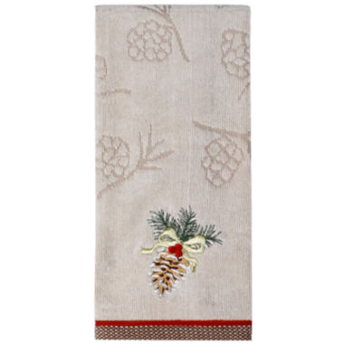 jcpenney.com | Saturday Knight Heartland Pinecone Hand Towel