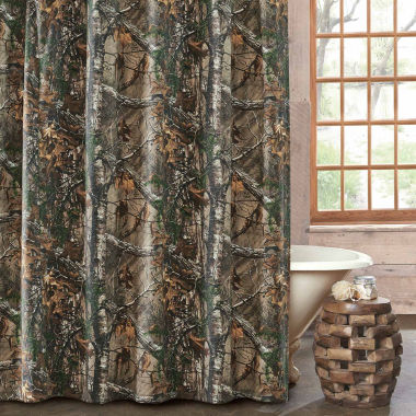jcpenney.com | Realtree Xtra Cotton Blend Shower Curtain