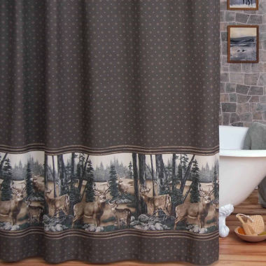 jcpenney.com | Whitetail Dreams Shower Curtain