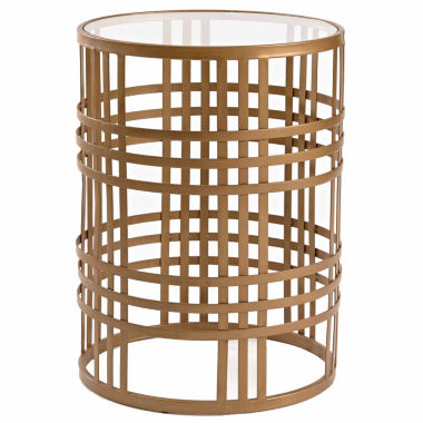 jcpenney.com | Innerspace Luxury Products Glass Top Chairside Table