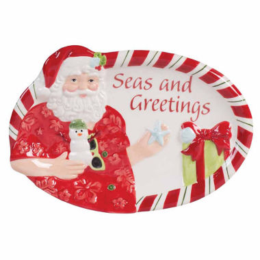jcpenney.com | Fitz & Floyd Coastal Clause Sentiment Tray