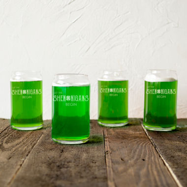 jcpenney.com | Cathy's Concepts St. Patrick'S Day Shenanigans 4-pc. Beer Glass Set