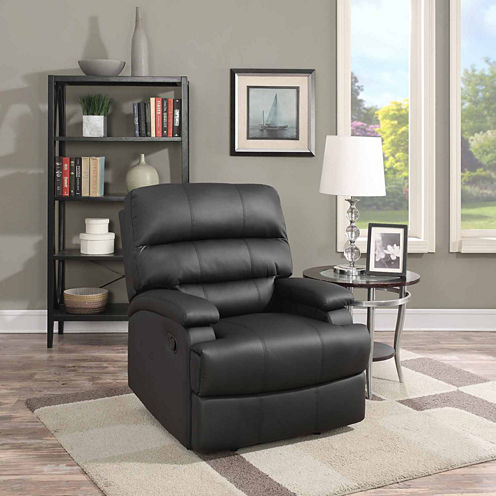 Rory Faux-Leather Recliner