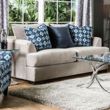 jcpenney.com | Curved Slope-Arm Loveseat