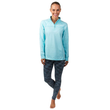 jcpenney.com | Jockey Burnout Half Zip Pullover or Tonal Jersey Leggings