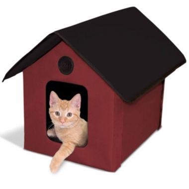 "jcpenney.com | K & H Manufacturing Outdoor Unheated Kitty House 22"" L X 18"" W X 17"" H"