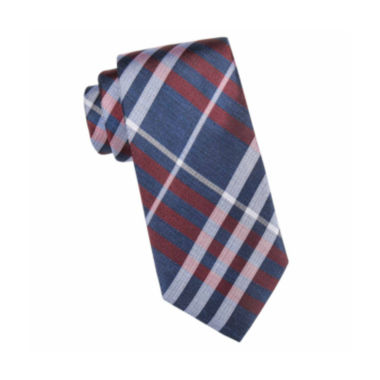 jcpenney.com | Collection by Michael Strahan™ Telluride Open Plaid Silk Tie