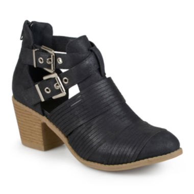 jcpenney.com | Journee Collection Tiff Cutout Ankle Boots