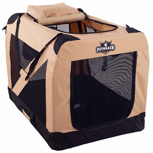 Petmaker Portable Soft Sided Pet Crate