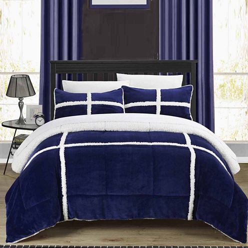 Chic Home Chloe New 2-pc. Midweight Comforter Set