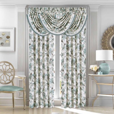 Queen Street Anabelle Rod-Pocket Curtain Panel