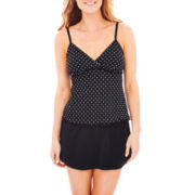 Trimshaper® Tankini Swim Top or Skirted Bottoms