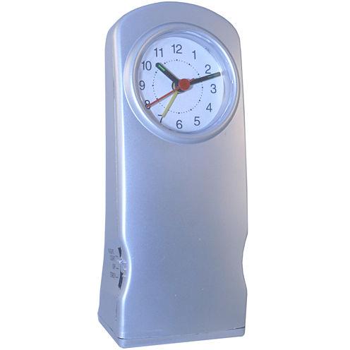 Natico Alarm Clock with Flashlight and Night Light
