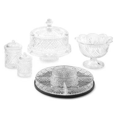 jcpenney.com | Dublin by Godinger Crystal Serveware Collection