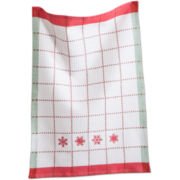 Winter Snowflake Dish Towel