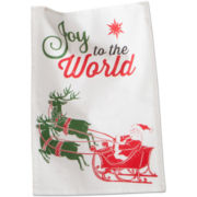 Joy to the World Dish Towel