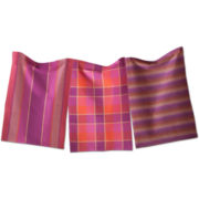 Sheridan Plaid Set of 3 Dish Towels