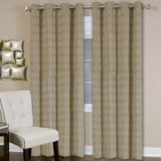 Faye Grommet-Top Curtain Panel