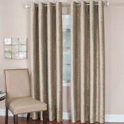 Victoria Velvet Grommet-Top Curtain Panel