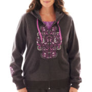 Made For Life™ Carbonized Fleece Graphic Hoodie - Plus