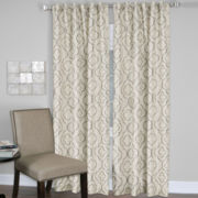 Gia Rod-Pocket/Back-Tab Curtain Panel