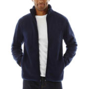 St. John's Bay® Full-Zip Fleece Jacket