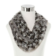 Mixit™ Space-Dyed Feather Infinity Scarf