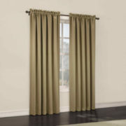 Sun Zero™ Emory Room-Darkening Rod-Pocket Curtain Panel Pair