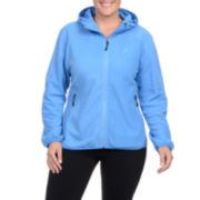 Champion® Microfleece Hooded Jacket - Plus