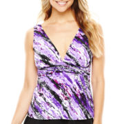 Trimshaper® V-Neck Tankini Swim Top