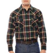 Ely Cattleman® Brawny Flannel Shirt