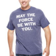 Star Wars™ Force Be With You Graphic Tee - Big & Tall