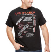 Star Wars™ Saber Schematic Graphic Tee - Big & Tall