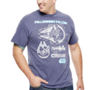 Star Wars™ Millennium Schematic Graphic Tee - Big & Tall