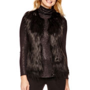 a.n.a® Sleeveless Faux-Fur Vest