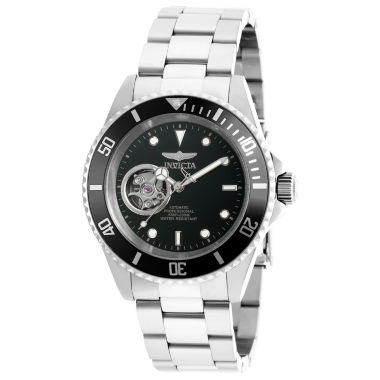 jcpenney.com | Invicta Mens Silver Tone Bracelet Watch-20433