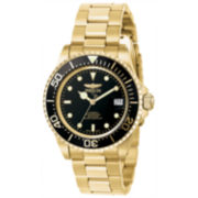 Invicta Mens Gold Tone Bracelet Watch-8929ob